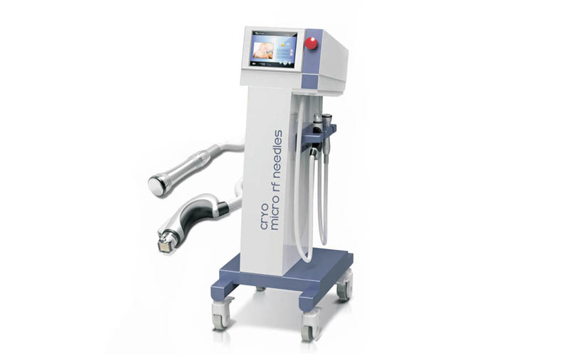 Aesthetic wrinkle reduce scars acne treatment thermagic microneedling RF skin care system