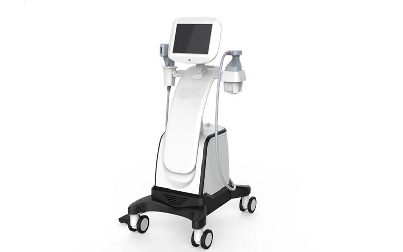double handpiece HIFU facial lifting HIFU body shaping liposonix slimming machine