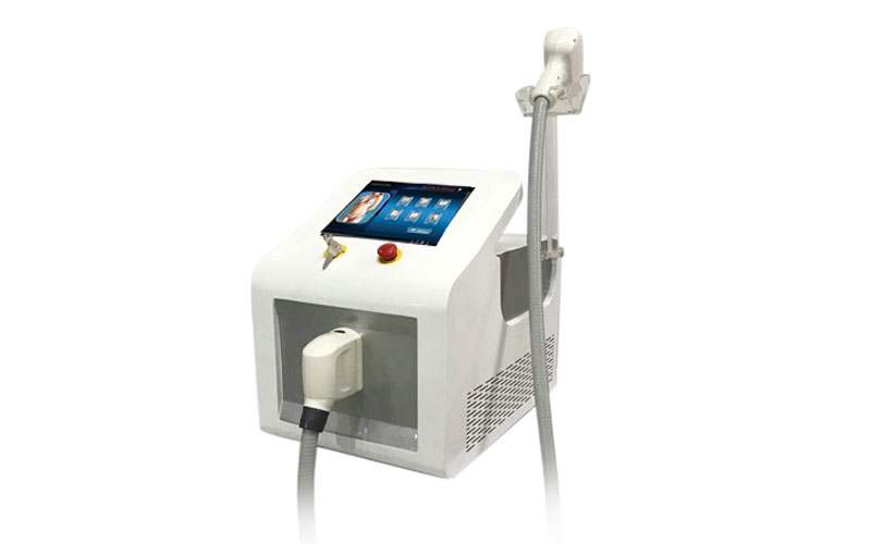 Portable 808 810nm Permanent Painless Hair Removal Laser with Big Spot Size 12*24mm
