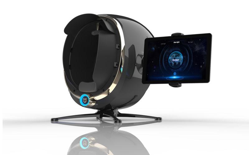 Newest Design 3D Intelligent Skin Analyzer Machine with 30 Million HD Pixel Camera